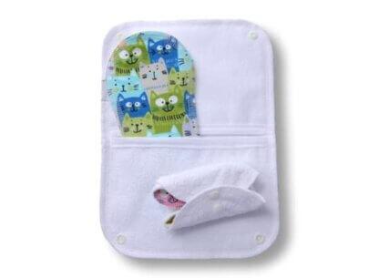 torbica za shranjevanje pralnih vložkov
